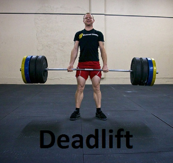 crossfit training workout deadlift Crossfit Training Workout