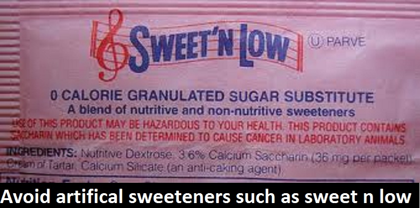 healthy tips for healthy eating avoid artificial sweeteners Health Tips For Eating Healthy