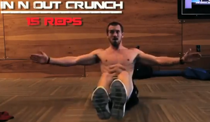 killer ab workout video in n out crunch Killer Ab Workout