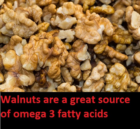 walnuts are a great source of omega 6 and omega 3 fatty acids1 Benefits of Omega 3 Fatty Acids and Omega 6 Fatty Acids