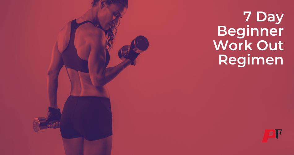 beginner womens workout routine