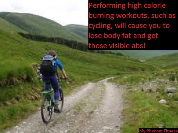 cycling is a good way to burn calories to get six pack abs The Truth About Six Pack Abs