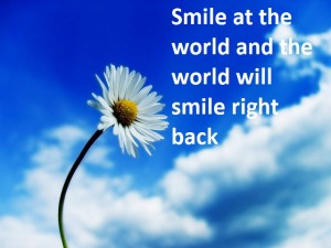 health tip of the week smile at the world and the world will smile right back 300x225 health tip of the week   smile at the world and the world will smile right back