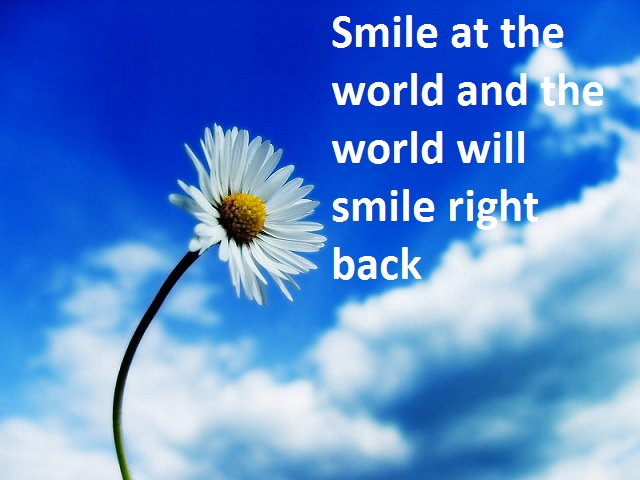 health tip of the week smile at the world and the world will smile right back Health Tip Of The Week   Smile At The World And The World Will Smile Right Back