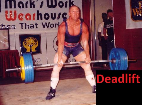 Power Lifter doing a deadlift Learn How To Gain Strength Without Size