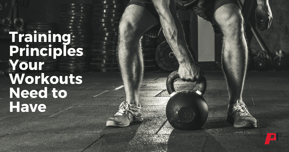 training principles for workouts