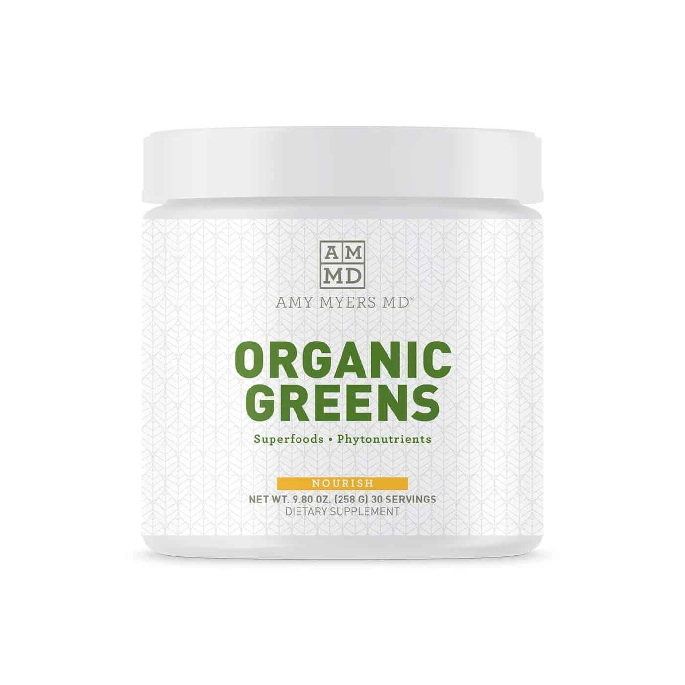 orgnaic greens supplement
