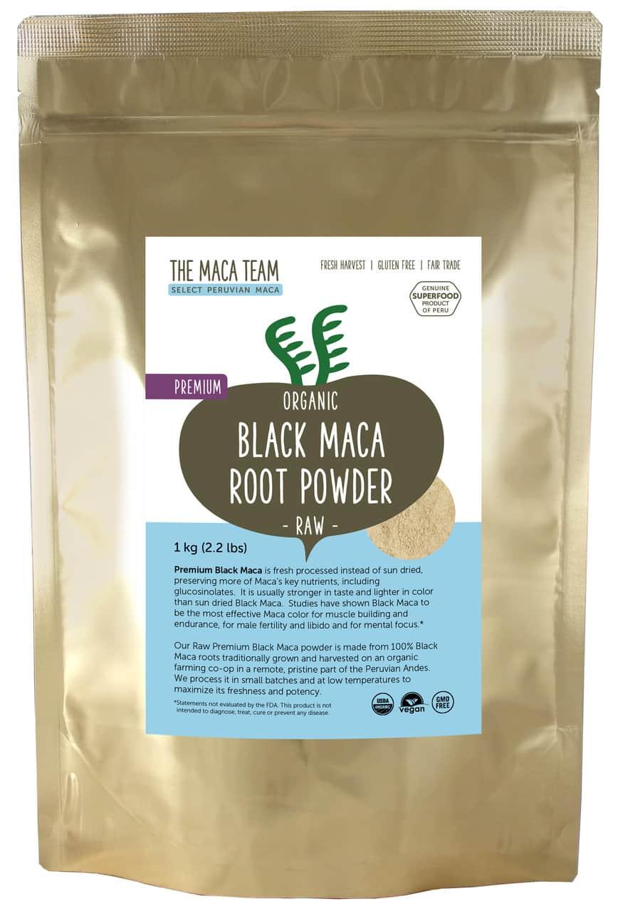 black maca powder supplement
