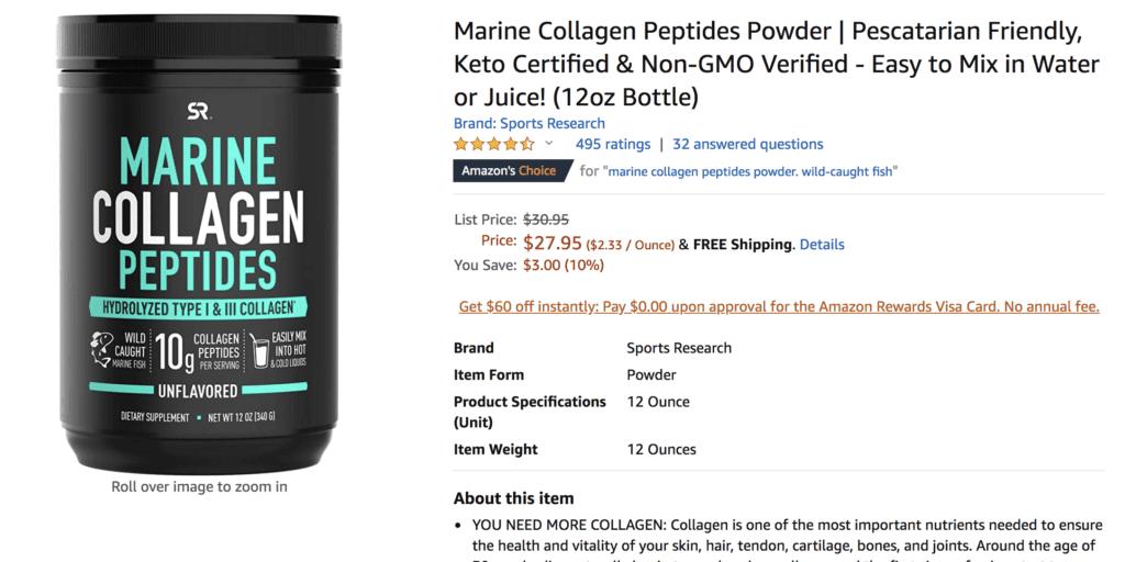 best choice for marine collagen