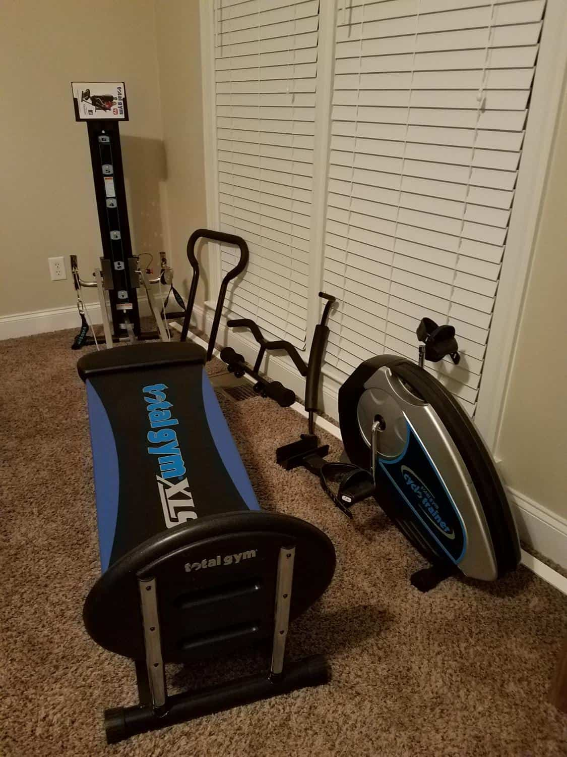 total gym xls workout equipment for home