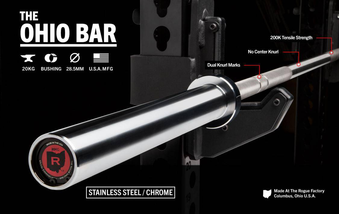 THE OHIO BAR - STAINLESS STEEL