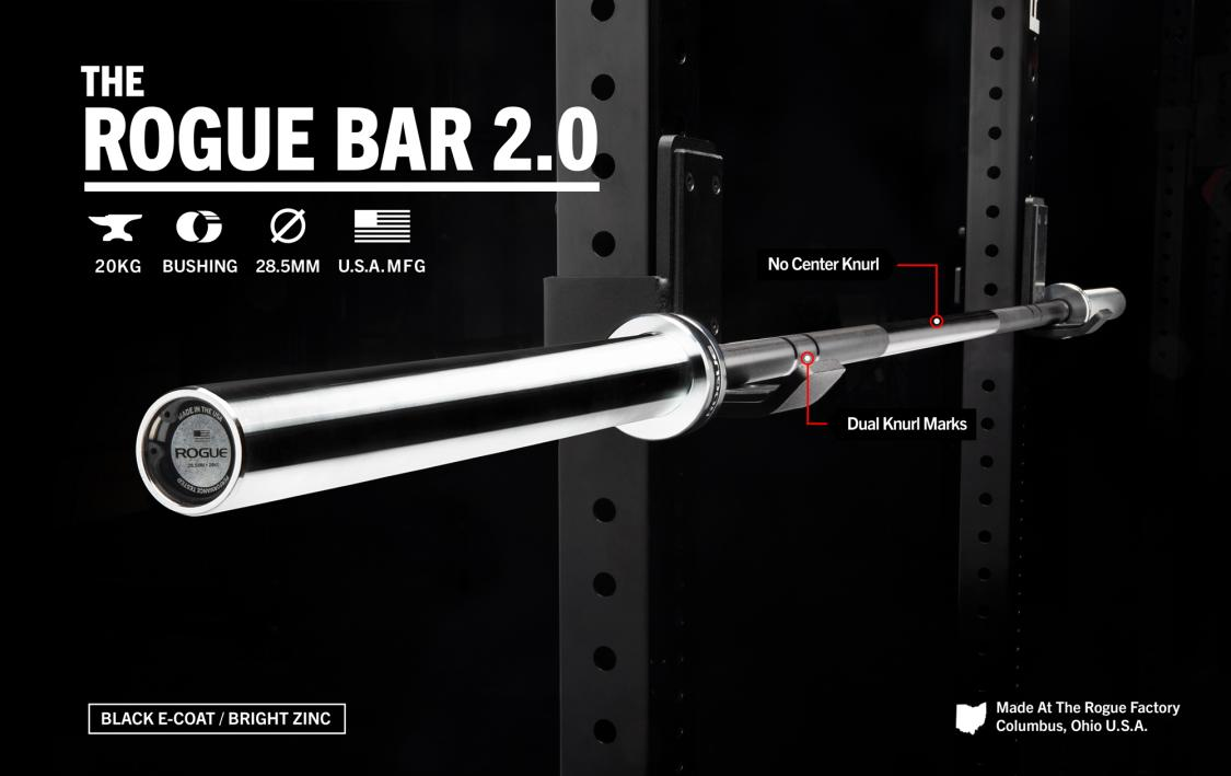 THE ROGUE BAR 2.0 - E-COAT