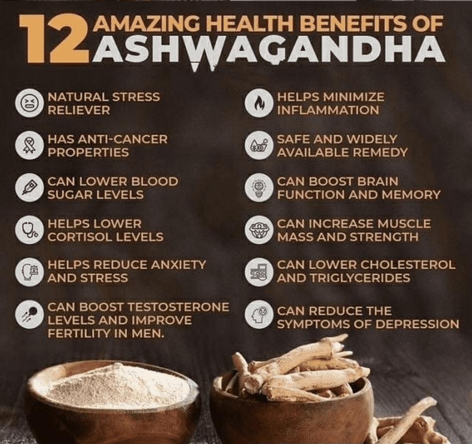 Benifits of ashwagandha