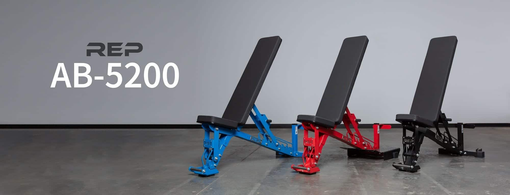 REP AB-5200 ADJUSTABLE BENCH