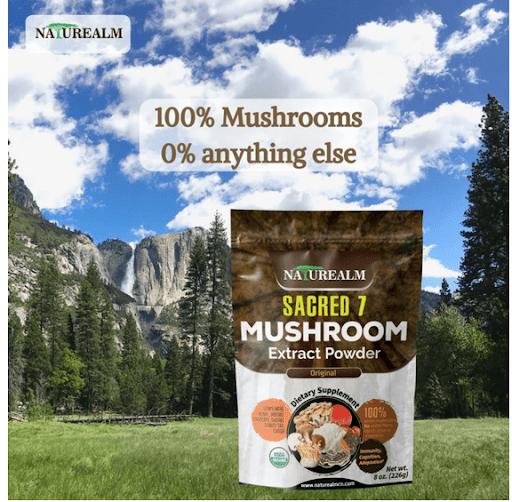 SACRED 7 Mushroom