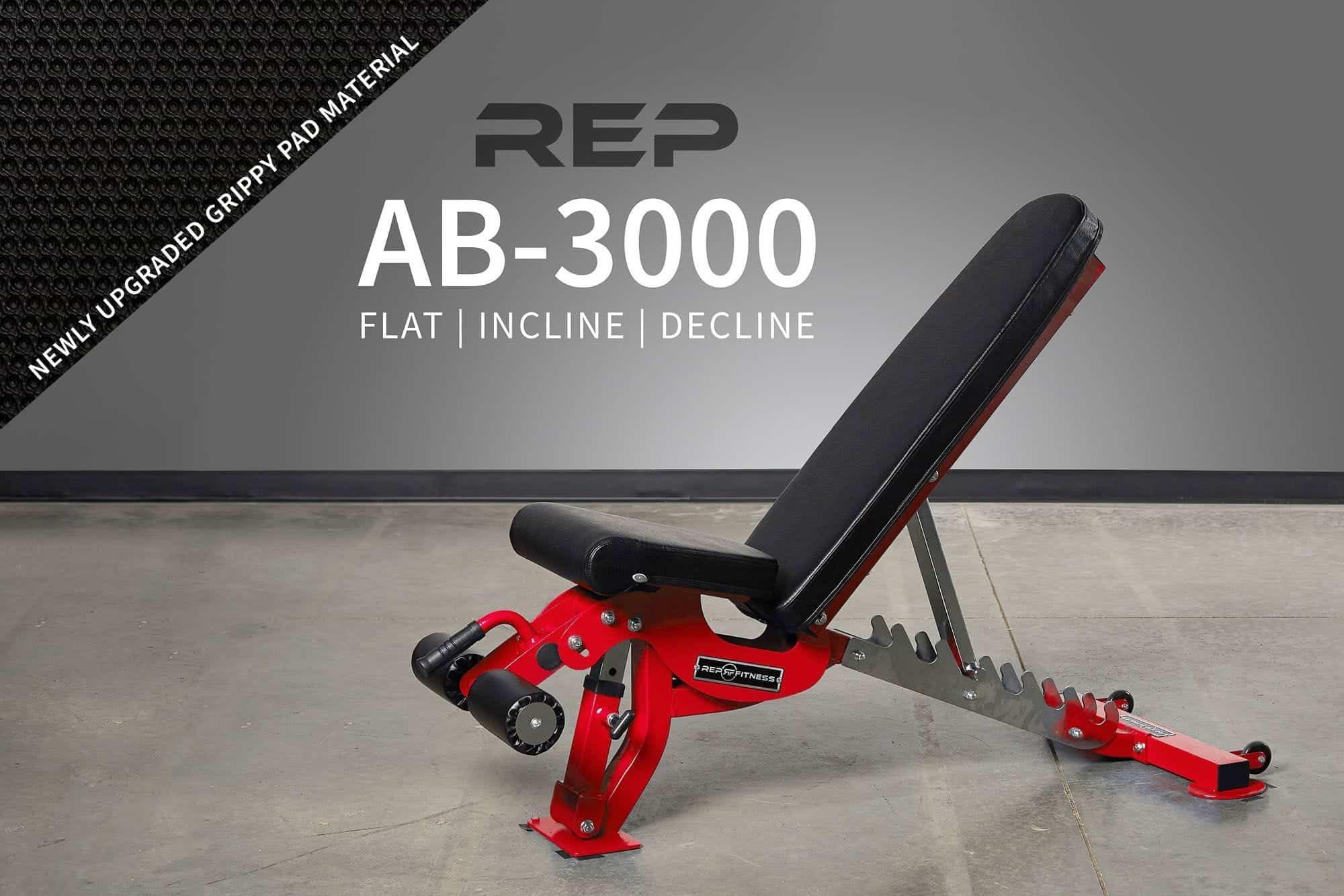 AB-3000 FID ADJUSTABLE BENCH