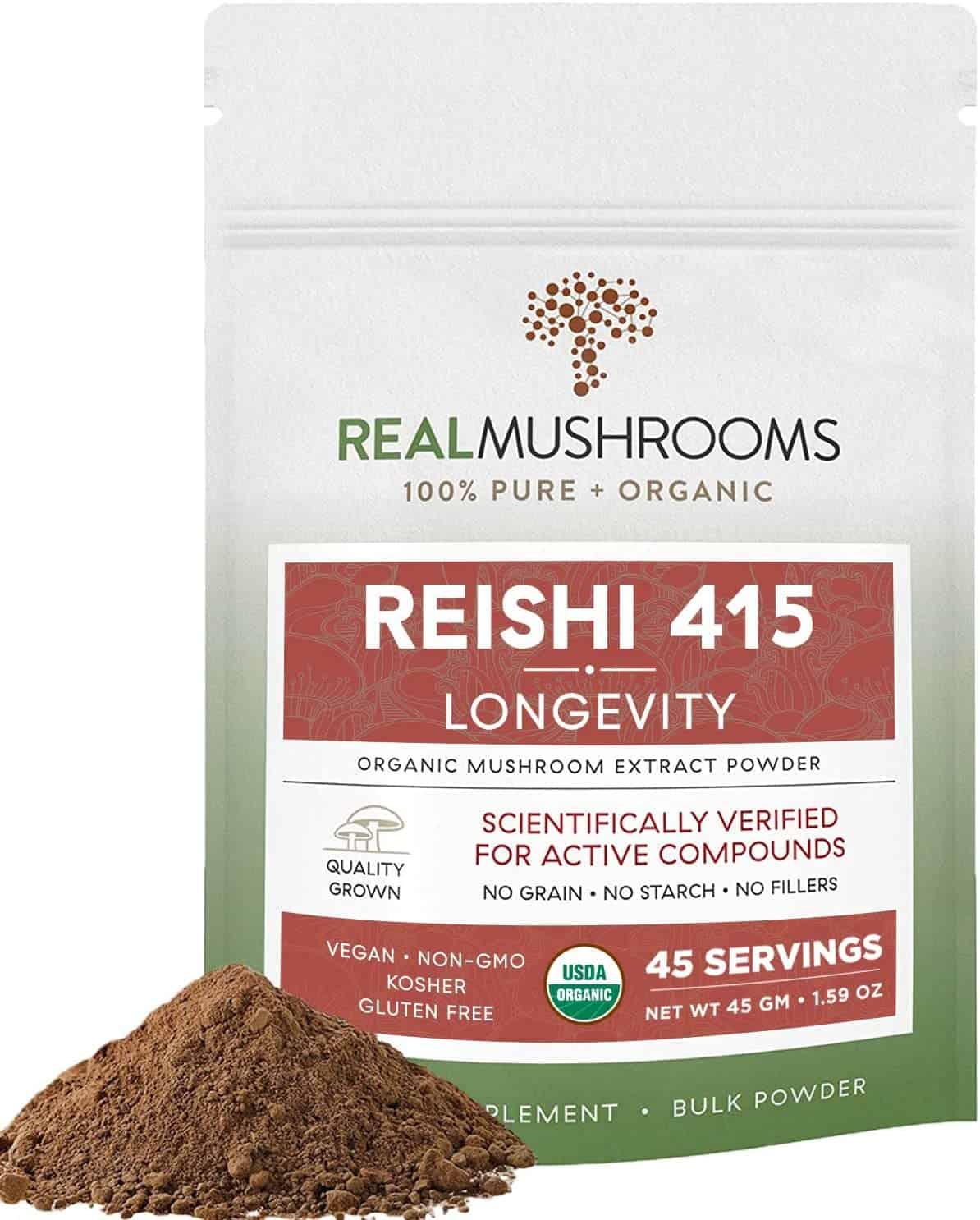 Real Mushroom Reishi Mushroom