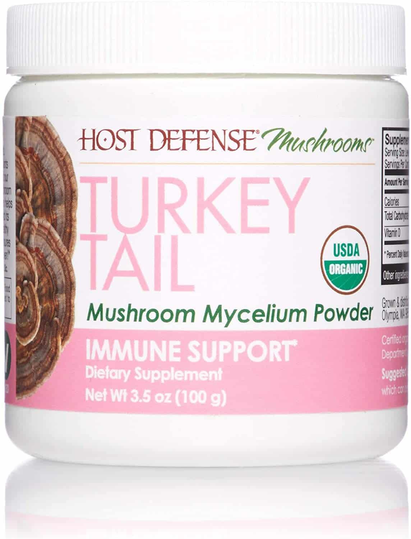 Host Defense, Turkey Tail Mushroom Powder